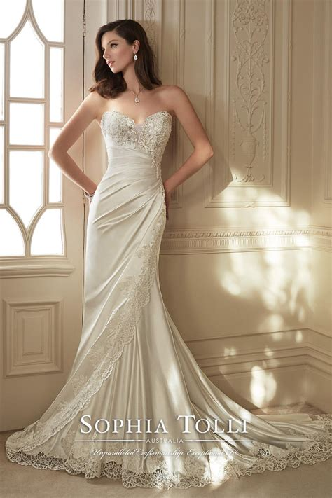 wedding dress  sophia tolli hitchedcouk