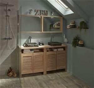 tendance bois pour la salle de bain habitatpresto With lovely idee pour jardin exterieur 17 decoration salle de bain et wc