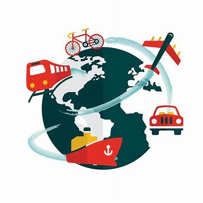 Travel Clipart Traveling Map Globe Global Clip