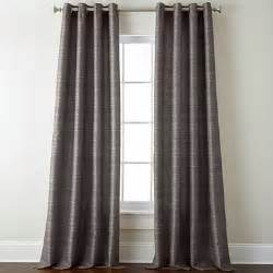 Grommet Top Curtains Jcpenney by Studio Origins Grommet Top Curtain Panel Taupe Gray