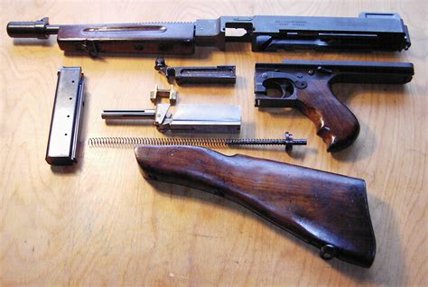 thompson submachine gun military wiki fandom powered