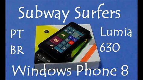 subway surfers lumia 630 windows phone gameplay