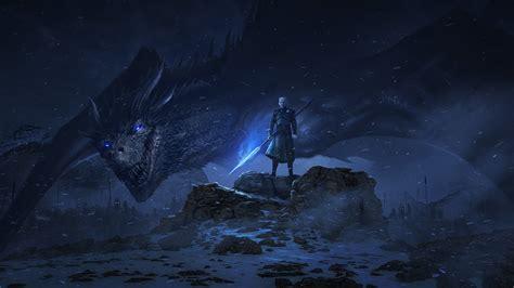 Dragon Night King Game Of Thrones Season 8, Hd Tv Shows