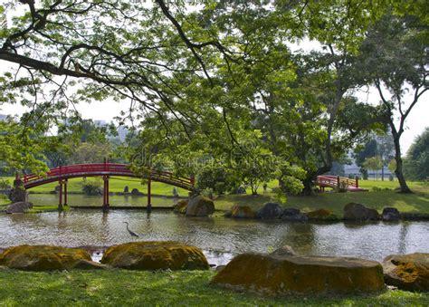 Japanischer Garten Singapur by Japanischer Garten In Singapur Stockbild Bild