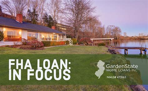 garden state loans fha loans garden state home loans