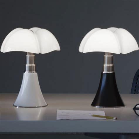 mini pipistrello lampe  poser blanc led de martinelli luce