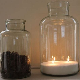 Beautiful Vintage Glass Bottles or Jars
