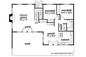 a frame house floor plans a frame house plans cascade 10 034 associated designs