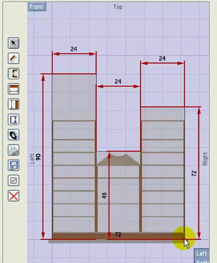 diy woodworking drawing software  rocking horse