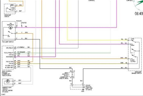 2001 Chevy 2500hd Headlight Wiring Schematic Wiring Diagram by 2001 Chevy Silverado 2001 Chev 2500 Hd Broken Wire