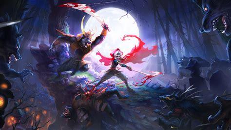 akaneiro demon hunters game wallpapers hd wallpapers