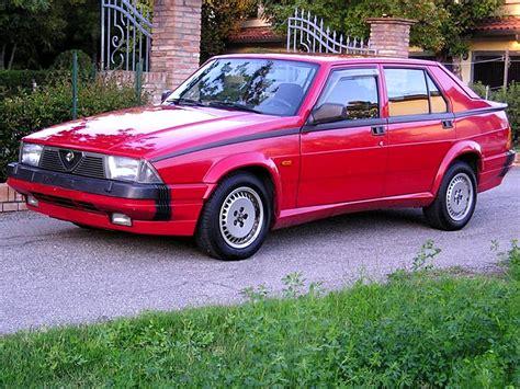 Alfa Romeo America by Foto Delle Alfa Romeo Alfa 75 1800 Turbo America