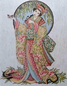 Oriental Cross Stitch Patterns Free Cross Stitch Patterns