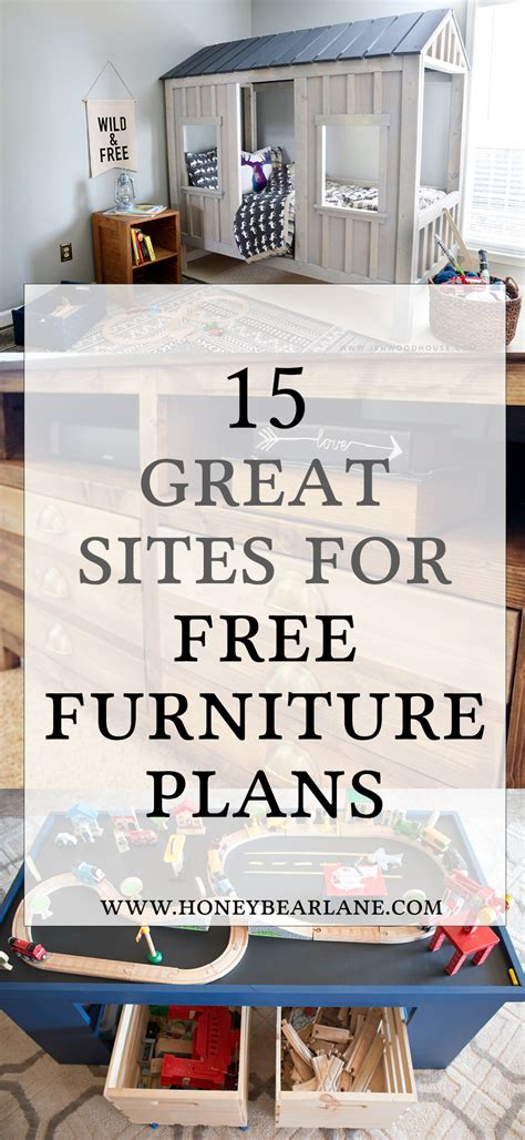 awesome sites   furniture building plans