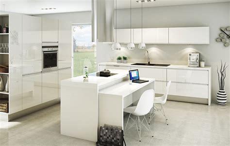 cuisine blanc laque pas cher dix mod 232 les de cuisines design pas ch 232 res inspiration cuisine