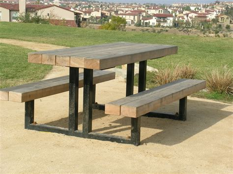 steel picnic table frame picnic tables park bench frames outdoor grills