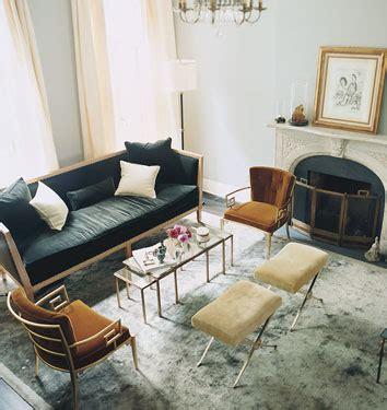 Nate Berkus Sofa by Navy Sofa Transitional Living Room Nate Berkus Design