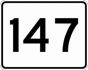 Number Designs File Ma Route 147 Svg Wikimedia Commons