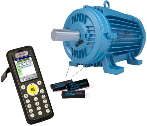 Electric Motor Maintenance by Wireless Battery Free Temperature Sensors For Protecting