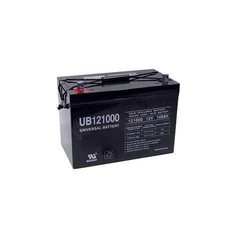 agm batterie 100ah upg 12v 100ah agm sealed lead acid battery ub121000 27 ebay