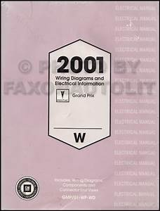 2001 Pontiac Grand Prix Repair Shop Manual Original 3
