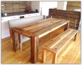 Bench Kitchen Table