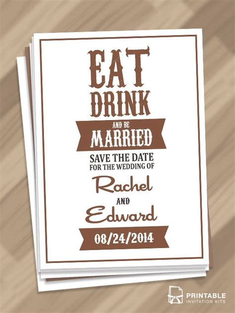 eat drink   married save