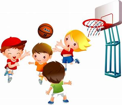 Clipart Physical Education Basketball Sports Playing Fitness