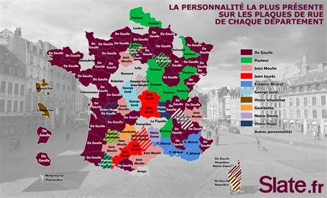quelle personnalit 233 a le plus de rues 224 nom dans votre d 233 partement slate fr