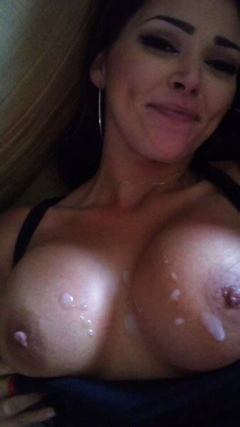 milf babe with jizz on her tits private milf pics