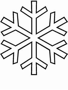 Flocon De Neige En Papier Facile Maternelle : coloriage flocon de neige maternelle dessin gratuit imprimer ~ Melissatoandfro.com Idées de Décoration