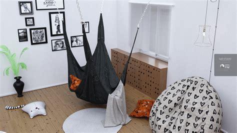 Bedroom With Hammock by Artink Bedroom Hammock 3d Models Spows