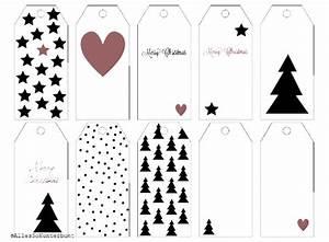 Geschenkanhänger Weihnachten Drucken : geschenkeanh nger papieranh nger gift tags kostenloser download weihnachtliche ~ Eleganceandgraceweddings.com Haus und Dekorationen