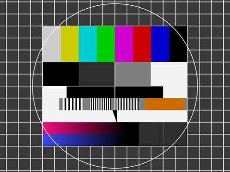 file telefunken fubk test pattern svg wikimedia commons - Test Pattern