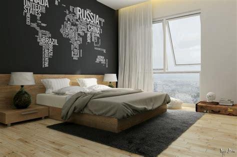 chambre avec mur en idee deco chambre mur