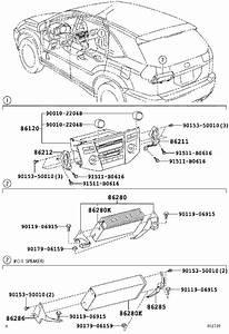 Lexus Rx 400h Receiver Assembly  Radio  Pioneer  Condenser