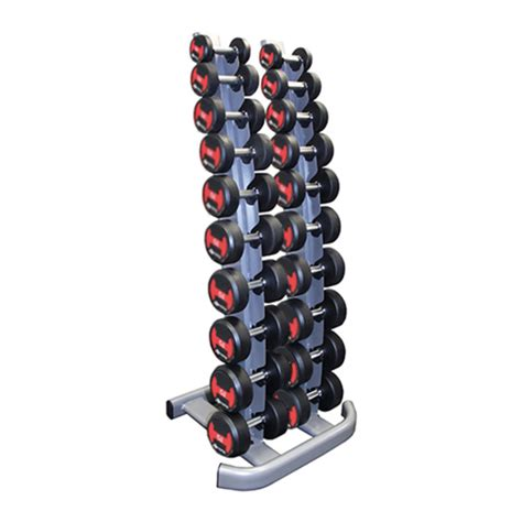 gym gear vertical dumbbell storage rack  pairs gym equipment wiltshire fitness equipment