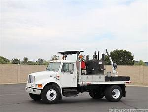 2000 International 4700 Thermo Melter Truck For Sale