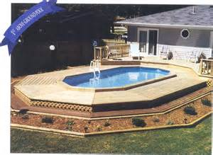 Pool Deck for Above Ground Pool