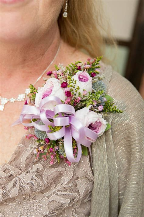 mother   bride pin  corsage photo courtesy