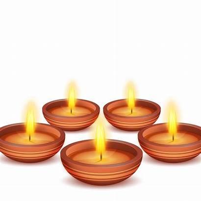 Candle Lantern Festival Flame Diwali Diya Clipart