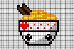 Noodles Pixel Art – BRIK