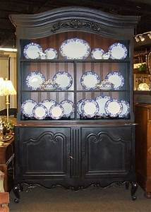 Black China Cabinet Hutch Eclectic China Cabinets