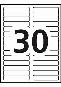 free template for labels 30 per sheet - avery filing labels 5066 template 30 labels per sheet
