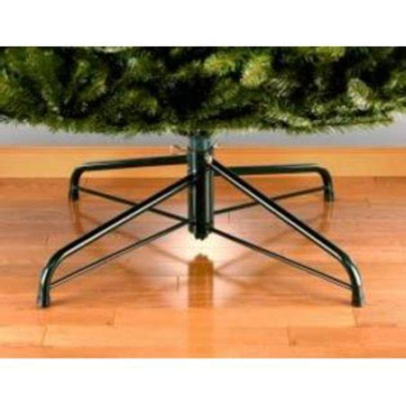 replacement leg for christmas tree stand 24 quot green metal folding tree stand for 6 8 artificial trees walmart