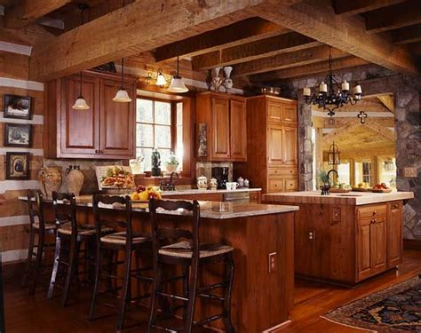 cabin style kitchen cabinets an efficiently designed contemporary kitchen that fits