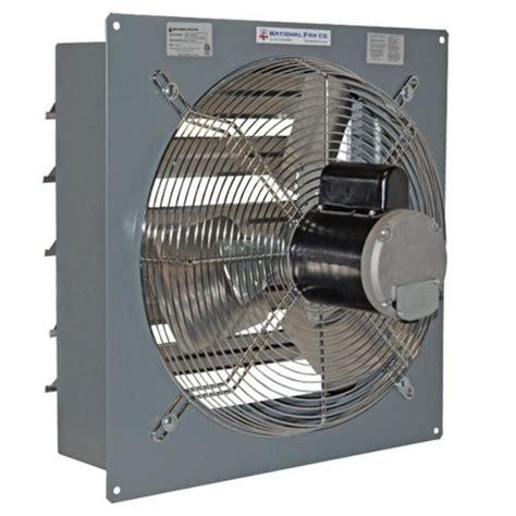 variable speed exhaust fan sf exhaust fan w shutters variable speed 24 inch 5151 cfm