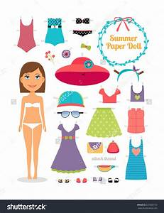 paper doll cut out clipart 90 With paper dress up dolls template