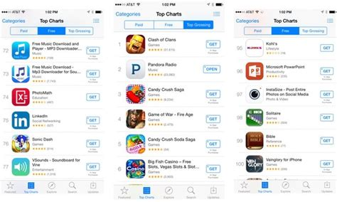 app store buttons change from free to get as in app purchases dominate revenue