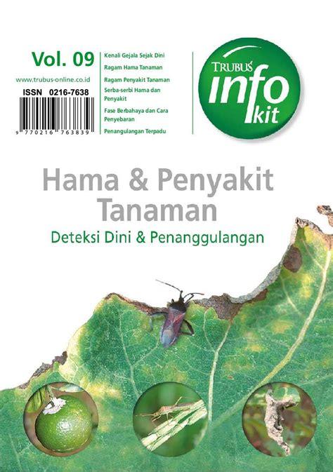 jual buku info kit vol 09 hama penyakit tanaman oleh